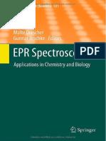 EPR Spectroscopy-App in Chemistry & Biology (Topics in Current Chemistry v.321)_M.drescher & G.jeschke