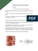 Propiedades Físicas de Los Metales
