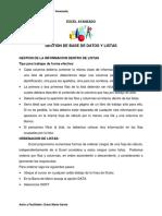 Manual Excel Avanzado Listas y Filtros-tablas Dinamicas