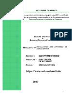 TEB Automat-wd Info M10 Installation Des Appareils de Signalisation GE-EB