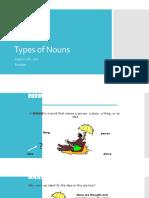 Types of Nouns 7th