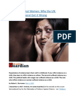 Violence Against Women  Why the UN Secretary-General Got it Wrong.docx
