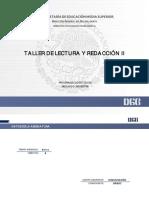 PROGRAMA DE ESTUDIOS TALLER DE LECTURA Y REDACCION II.pdf