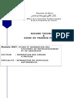 M07 Entretien Des Système de Lubrification Et de Refroidissement