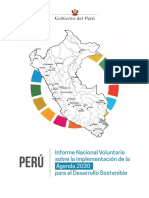 Informe Nacional Voluntario - Ceplan