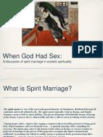 When God Had Sex