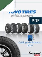 Catalogo de Producto Toyo TIires 2016 Digital