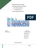 El Baloncesto (1)
