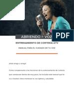 Manual Para El Cuidado de La Voz (2)
