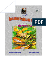 Memoria Agricultura Organica en El Tropico