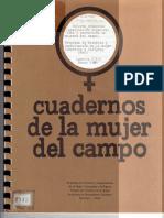 CEM. Informe Semestral. Capacitación Organizativa y Productiva de Mujeres Del Campo.