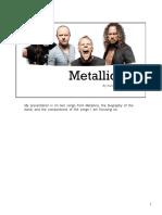 metallica report