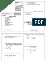 Examen Bimestral Cuarto