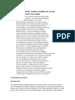 Ana Estiragues Poema 20 Pablo Neruda