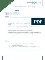 Agenda 11 y 12