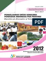 Pengeluaran untuk Konsumsi Penduduk Indonesia per Provinsi, Maret 2012.pdf