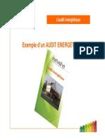 Exemple Audit Énergétique