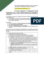 Cédula de Derecho Laboral - Contrato Individual de Trabajo