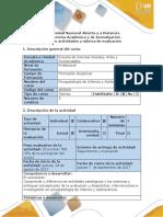 Guía de Actividades y Rúbrica de Evaluación -El Problema. 2 Elaborar Presentación en PowerPoint Con Los Criterios Planteados y El Concepto Construido. Producto 2