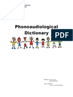 Phonoaudiological Dictionary