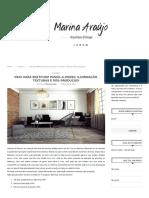 Vray Para Passo-A-passo_ Iluminação, Texturas e Pós-produção! _ Marina Araújo