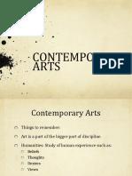 Contemporary Lesson 1