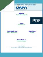 Práctica. Tareas II, III y IV