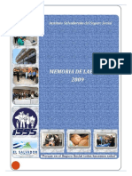Memoria de Labores Isss - 2009