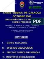 Crisisssmicadecalacoa Evaluacindeefectosgeolgicosydaosproducidos 120411085714 Phpapp02