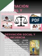 Desviación Social y Delincuencia
