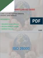 Diapositivas Trabajo de Cultura Iso 26000