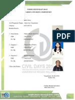 Formulir Pendaftaran Gcc