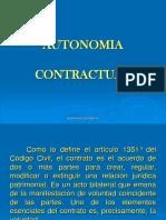 Autonomia Contractual