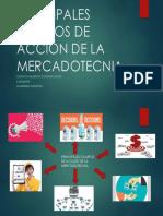 Principales Campos de Acción de La Mercadotecnia