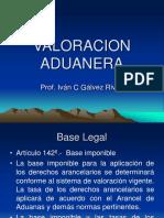 Clase Valoracion Aduanera