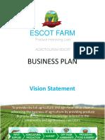 ESCOT FARM Business Plan_v1