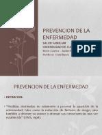Prevencion de La Enfermedad