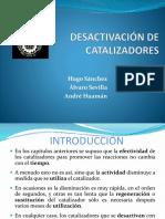 Desactivacion de Los Catalizadores