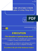 Execution the Discipline