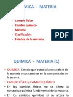 Quimica - Materia