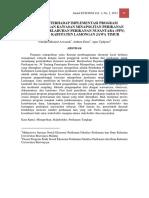 EVALUASI TERHADAP IMPLEMENTASI PROGRAM MINAPOLITAN.pdf