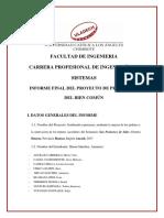 Informe Final DOCTRINA SOCIAL DE LA IGLESIA