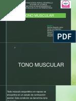 Tono Muscular Presentacion