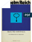 Selected Writings; An Introduction to Orgonomy