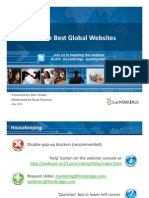 Secrets of the Best Global Websites