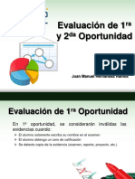 Evaluación 2da Op