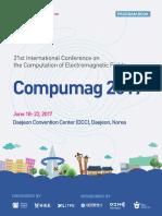 Compumag 2017 Program Book