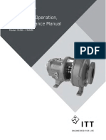 Centrifugal Pump Installation Operation Maintenance