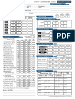 Starfinder Character Sheet JN10R