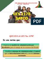 LEY SAFCO 1178   2013